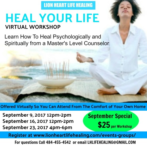 Heal Your Life Virtual Workshop