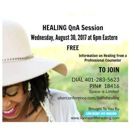 Healing QnA August 30th