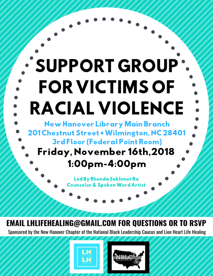 SUPPORT GROUPFOR VICTIMS OFRACIAL VIOLENCE (2)